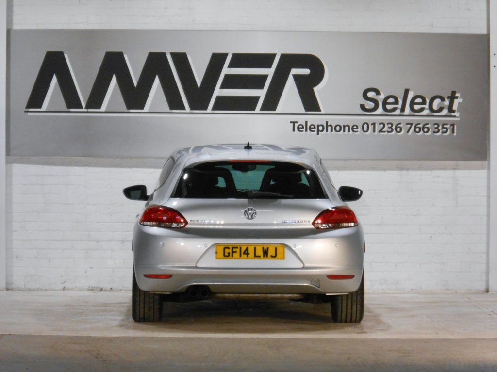 USED 2014 14 VOLKSWAGEN SCIROCCO 2.0 GT TDI BLUEMOTION TECHNOLOGY 2d 140 BHP