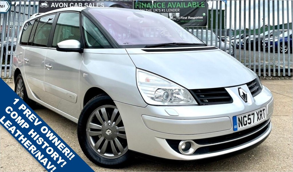 USED 2008 57 RENAULT GRAND ESPACE 3.0 INITIALE DCI 5d 185 BHP AUTOMATIC! 1 PREVIOUS OWNER! LEATHER! CLIMATE CONTROL! COMP RECENT HISTORY! 2 KEYS!