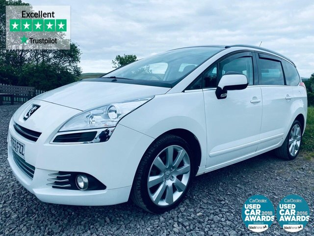 USED 2013 63 PEUGEOT 5008 1.6 HDI ALLURE 5d 115 BHP CRUISE CONTROL, BLUETOOTH