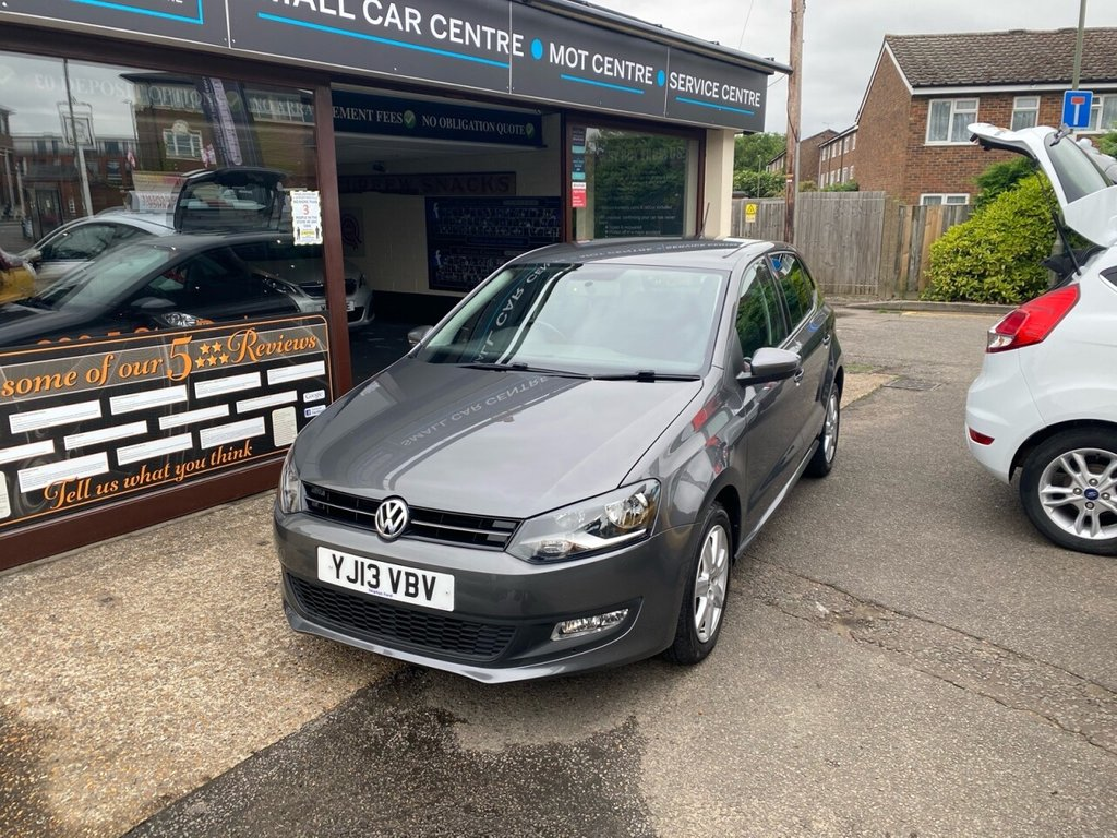 USED 2013 13 VOLKSWAGEN POLO 1.2 MATCH 5d 59 BHP BLUETOOTH - USB - AUX - AIRCON - ALLOYS