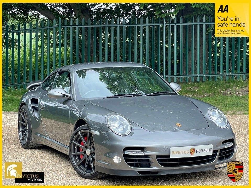 USED 2010 10 PORSCHE 911 3.8 TURBO PDK 3d 500 BHP