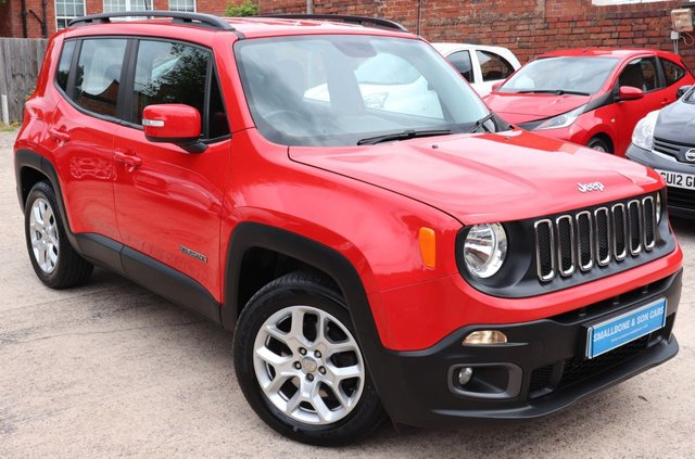 USED 2016 66 JEEP RENEGADE 1.4 LONGITUDE 5d 138 BHP * BUY ONLINE * FREE NATIONWIDE DELIVERY *