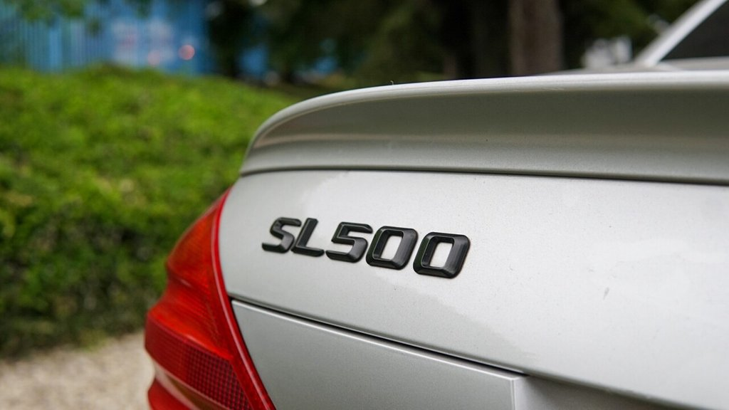 USED 2002 MERCEDES-BENZ SL 5.0 SL500 2d 306 BHP