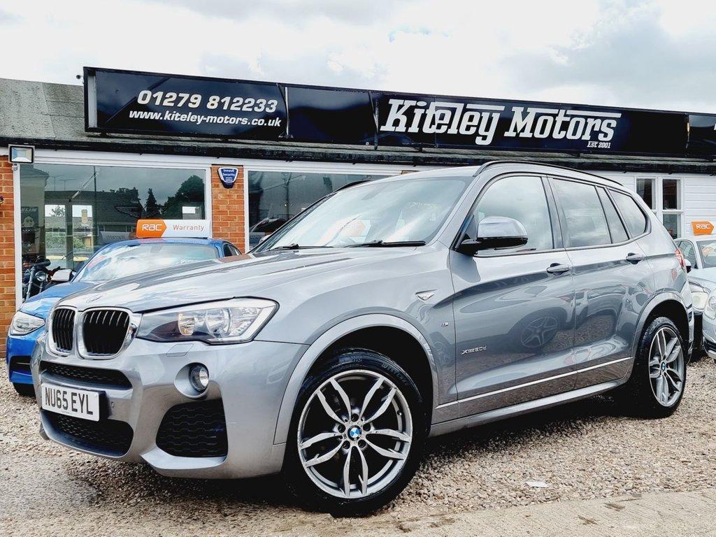 USED 2015 65 BMW X3 2.0 XDRIVE20D M SPORT 5d 188 BHP SATELLITE NAVIGATION