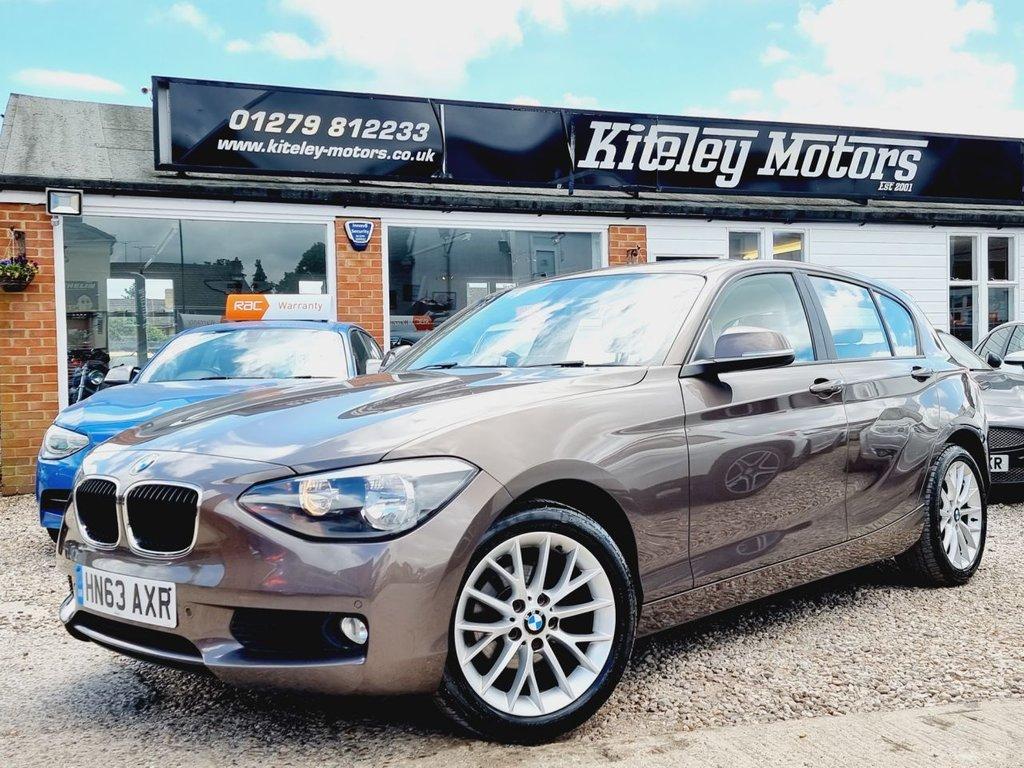 USED 2013 63 BMW 1 SERIES 1.6 116I SE 5d 135 BHP SATELLITE NAVIGATION