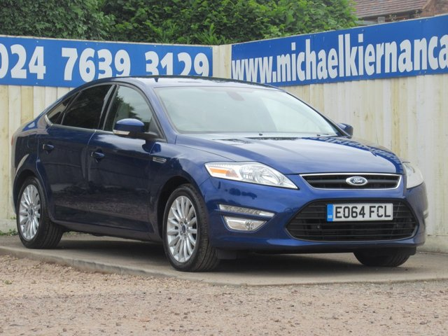 USED 2014 64 FORD MONDEO 2.0 ZETEC BUSINESS EDITION TDCI 5d 138 BHP TOP SPEC, LOVELY COLOUR