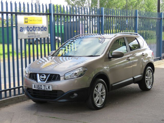 USED 2010 60 NISSAN QASHQAI 1.5 N-TEC DCI  5d 105 BHP Great Service History, Bluetooth, Climate Control Aircon, Reversing Camera, Pan roof
