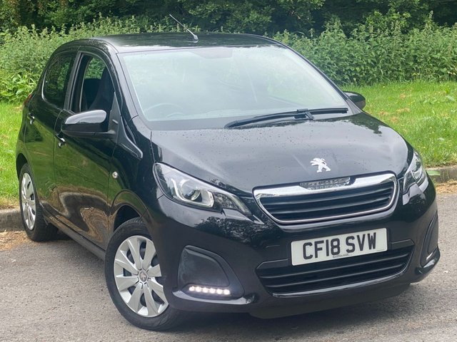 USED 2018 18 PEUGEOT 108 1.0 ACTIVE 5d 72 BHP FULL TOUCH SCREEN MEDIA, BLUETOOTH