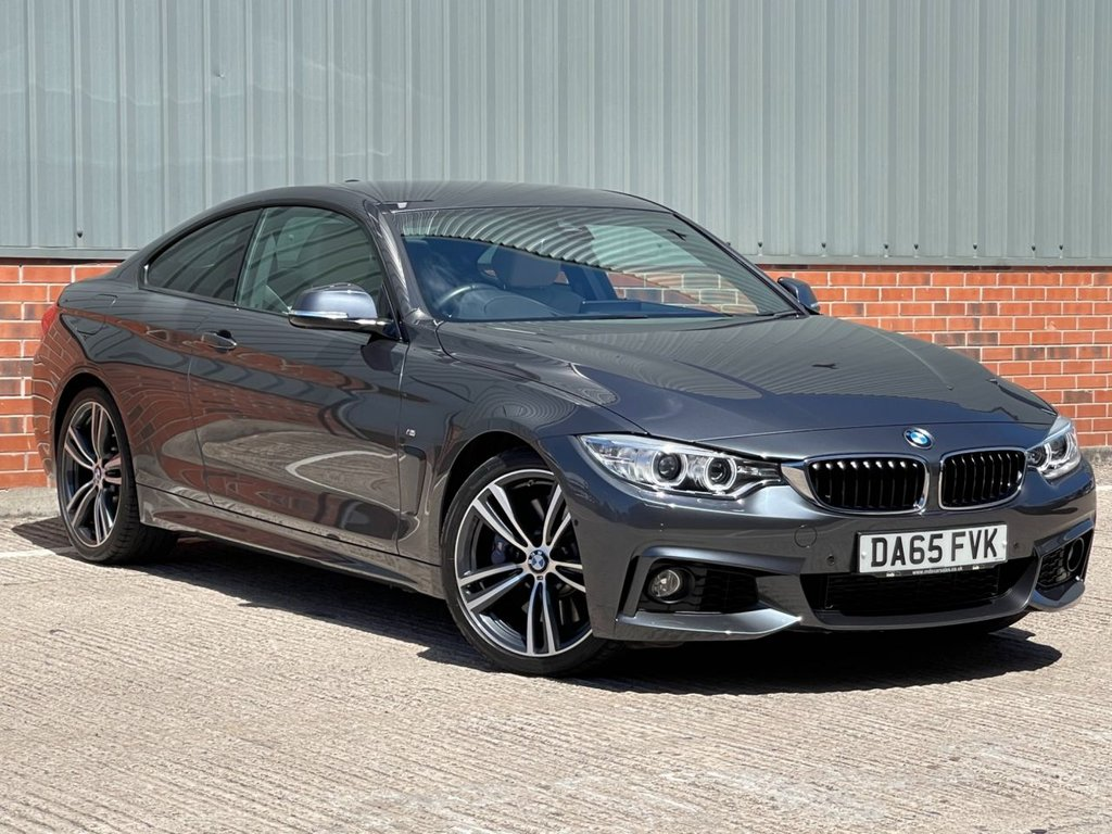 USED 2015 65 BMW 4 SERIES 3.0 435I M SPORT 2d 302 BHP FANTASTIC CONDITION AND YES ONLY 7900 MILES