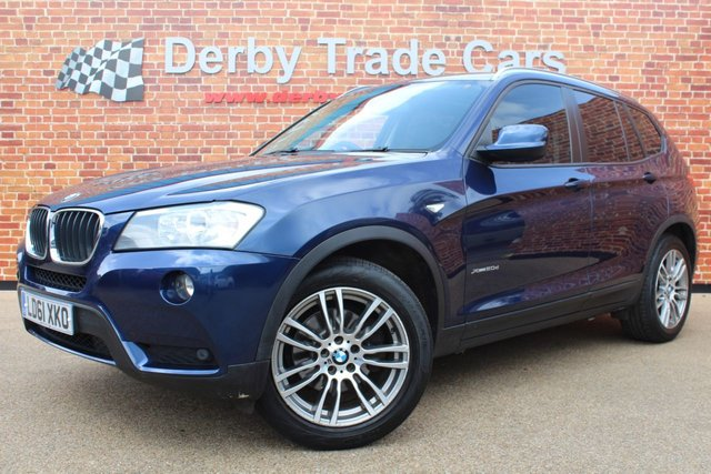 BMW X3 at Derby Trade Cars