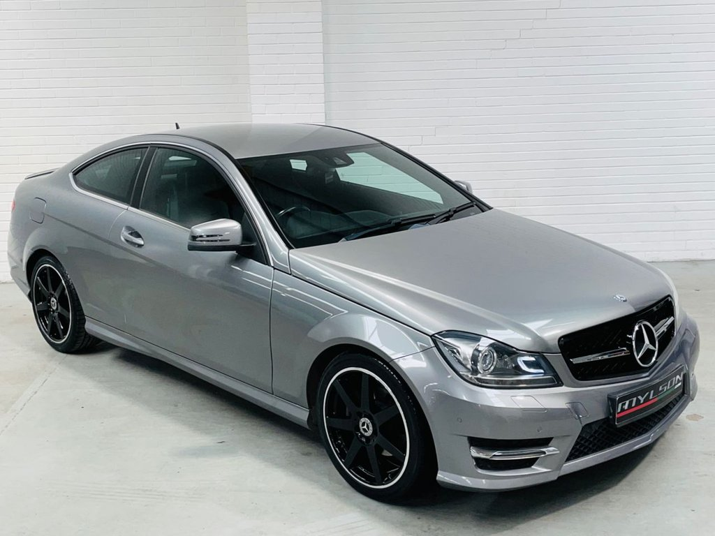 USED 2014 64 MERCEDES-BENZ C-CLASS 2.1 C250 CDI AMG SPORT EDITION PREMIUM 2d 202 BHP AMG Pack|Heated Leather|COMAND Online|AA Pass|FINANCE