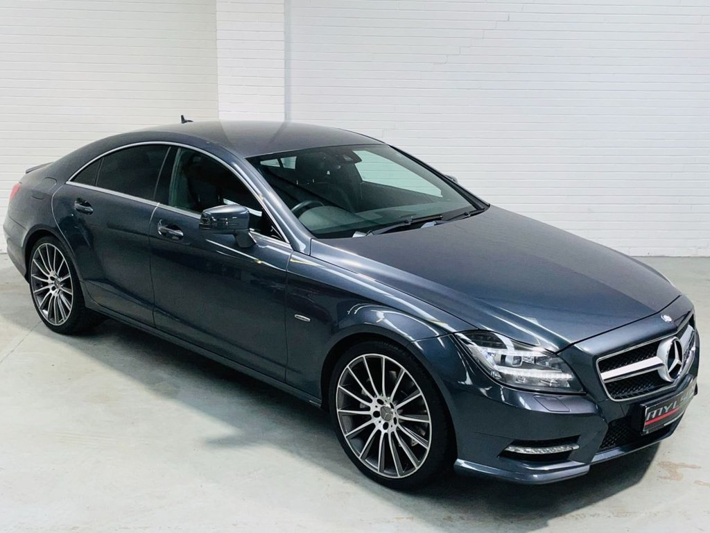 USED 2013 MERCEDES-BENZ CLS CLASS 3.0 CLS350 CDI BLUEEFFICIENCY AMG SPORT 4d 265 BHP AMG Pack|HK Audio|20in Wheels|Tints|COMAND|Cam|FINANCE
