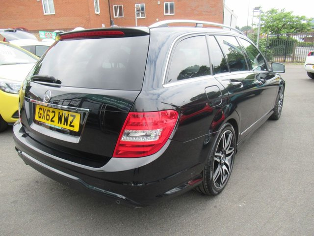 USED 2012 62 MERCEDES-BENZ C-CLASS 2.1 C200 CDI BLUEEFFICIENCY AMG SPORT PLUS 5d 135 BHP ** TEST DRIVE TODAY **