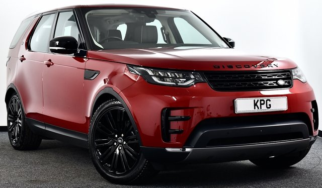 USED 2017 67 LAND ROVER DISCOVERY 2.0 SD4 HSE Luxury Auto 4WD (s/s) 5dr £70k New, Rear Ent, F/LR/S/H