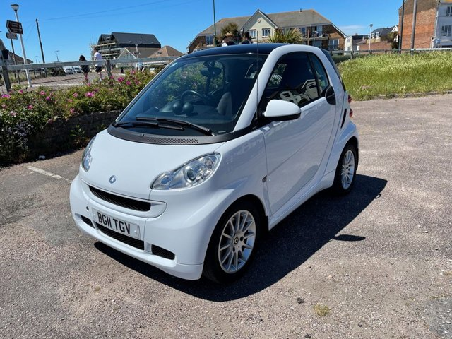 USED 2011 11 SMART FORTWO 1.0 PASSION MHD 2d 71 BHP AUTOMATIC, SAT NAV, LOW MILEAGE FINANCE ME TODAY-UK DELIVERY POSSIBLE