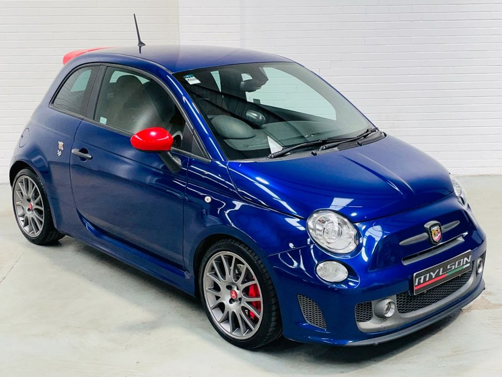 USED 2016 16 ABARTH 500 1.4 595 COMPETIZIONE 3d 177 BHP Tan Leather Sabelt Brembo Monza Xenons Tints PX+FINANCE
