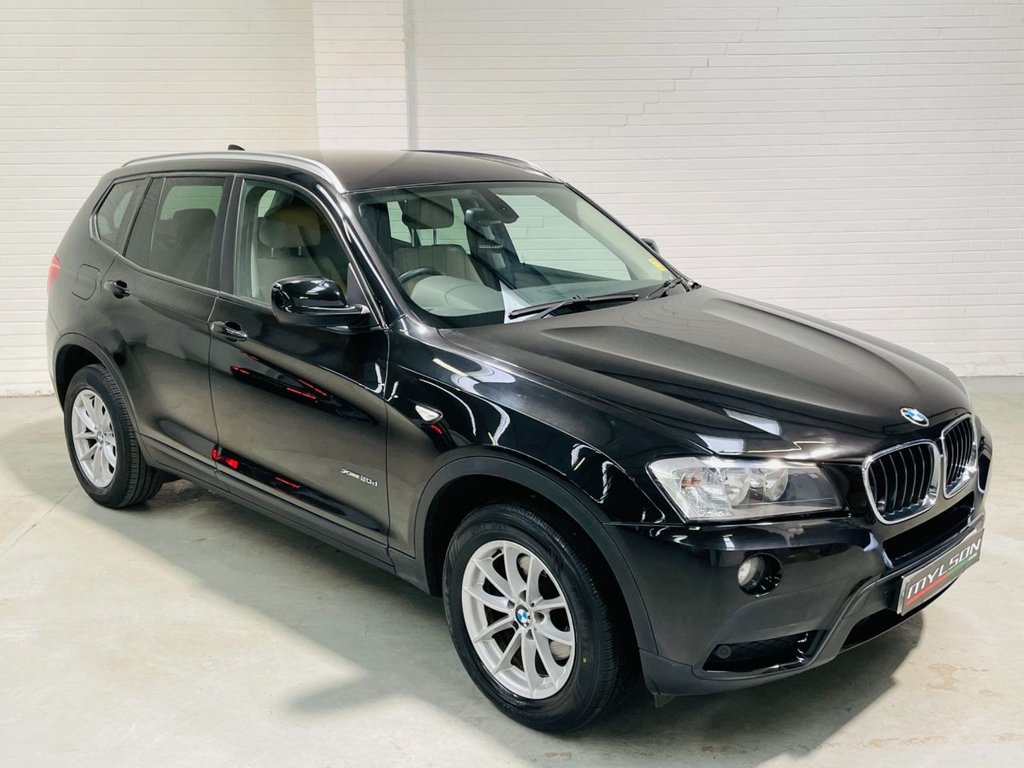 USED 2013 63 BMW X3 2.0 XDRIVE20D SE 5d 181 BHP Auto Leather Sat Nav Privacy Glass Low Miles FINANCE