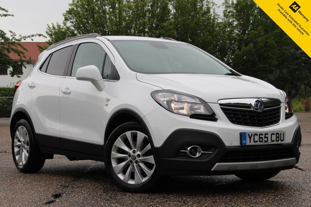 USED 2015 65 VAUXHALL MOKKA 1.6 SE CDTI 5d 134 BHP ** FULL SERVICE HISTORY ** BRAND NEW ADVISORY FREE MOT - JUNE 2022 EXPIRY ** SUPERB VALUE HIGH SPEC AUTO ** LEATHER ** HEATED SEATS + STEERING WHEEL ** AIR CONDITIONING ** CRUISE CONTROL ** AUTO LIGHTS ** FRONT + REAR PARKING AID ** POWER FOLD MIRRORS ** BUY ONLINE IN CONFIDENCE FROM A MULTI AWARD WINNING 5* RATED DEALER ** NATIONWIDE DELIVERY AVAILABLE **