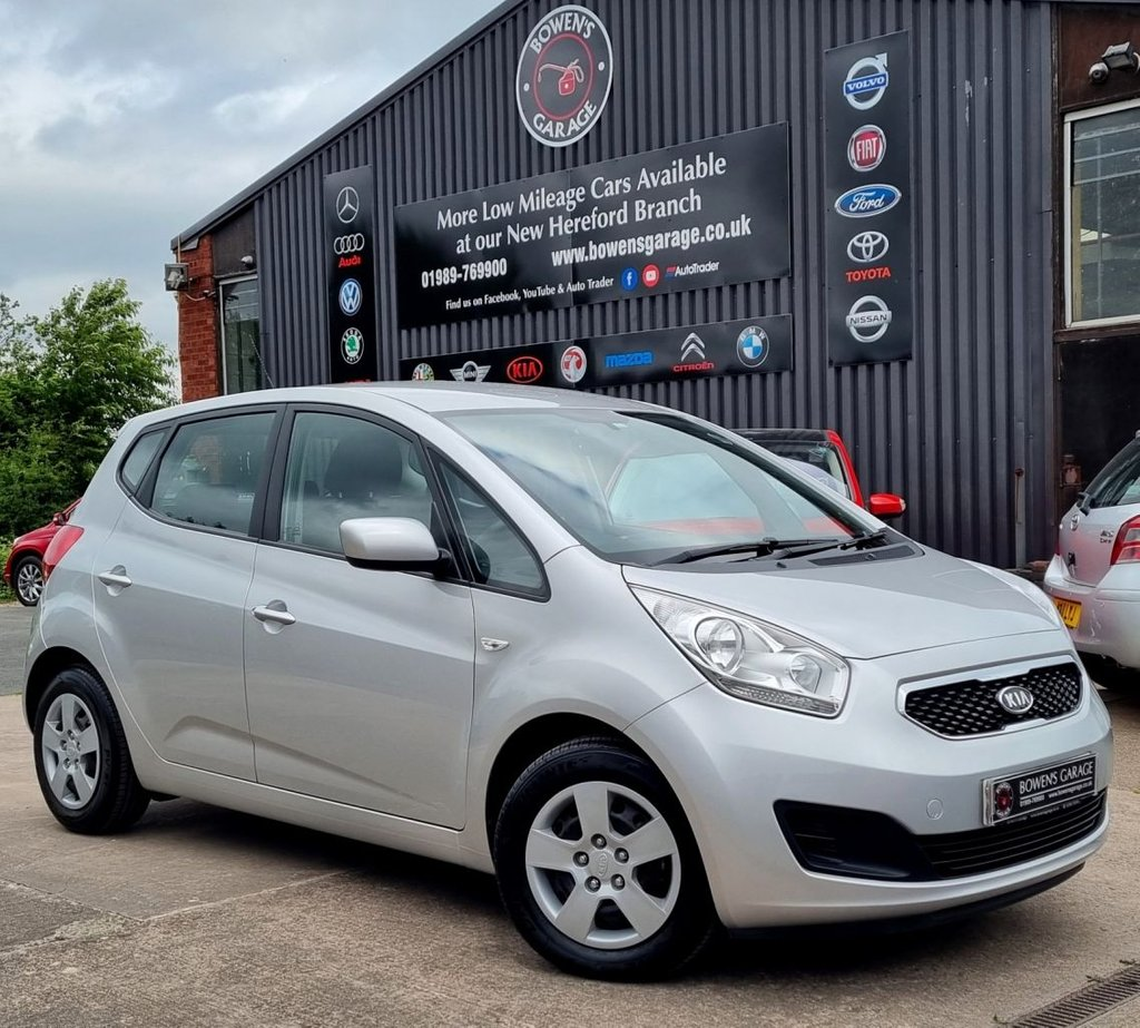 USED 2013 63 KIA VENGA 1.4 CRDI 1 AIR 5D 89 BHP Low Miles - 2 Owners - 8 Services - £30 Tax