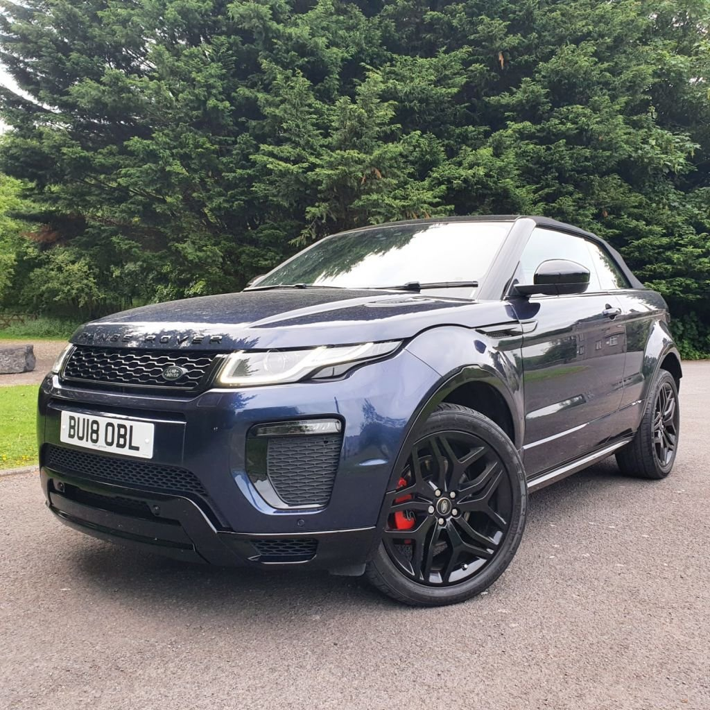 USED 2018 18 LAND ROVER RANGE ROVER EVOQUE 2.0 TD4 HSE DYNAMIC 3d 177 BHP