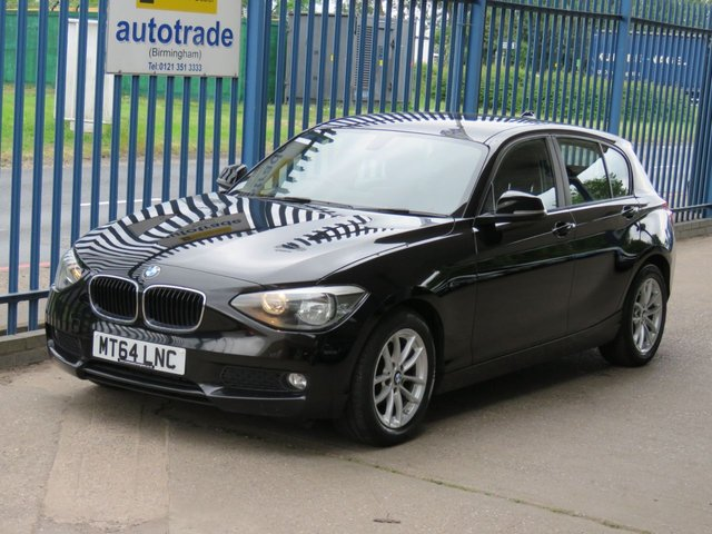 USED 2014 64 BMW 1 SERIES 1.6 116D EFFICIENTDYNAMICS BUSINESS 5dr 114 Sat nav-Full leather-DAB-Cruise-Bluetooth & audio-Alloys Finance arranged Part exchange available Open 7 days