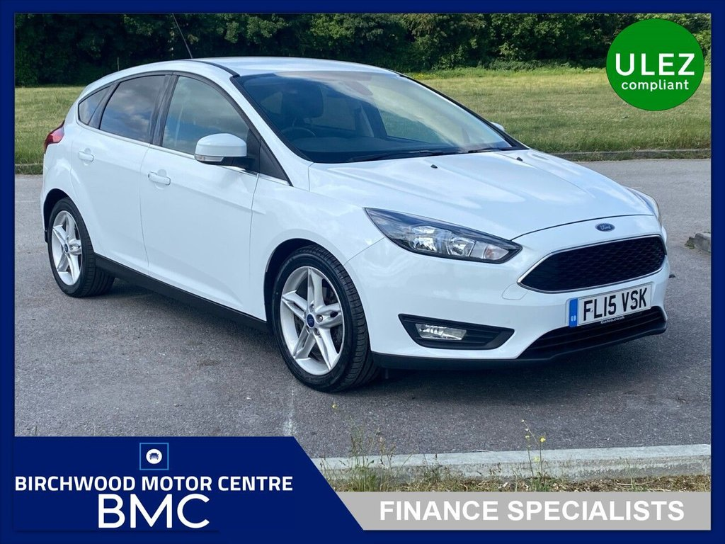 USED 2015 15 FORD FOCUS 1.0 ZETEC 5d 124 BHP. FULL SERVICE HISTORY!!!!