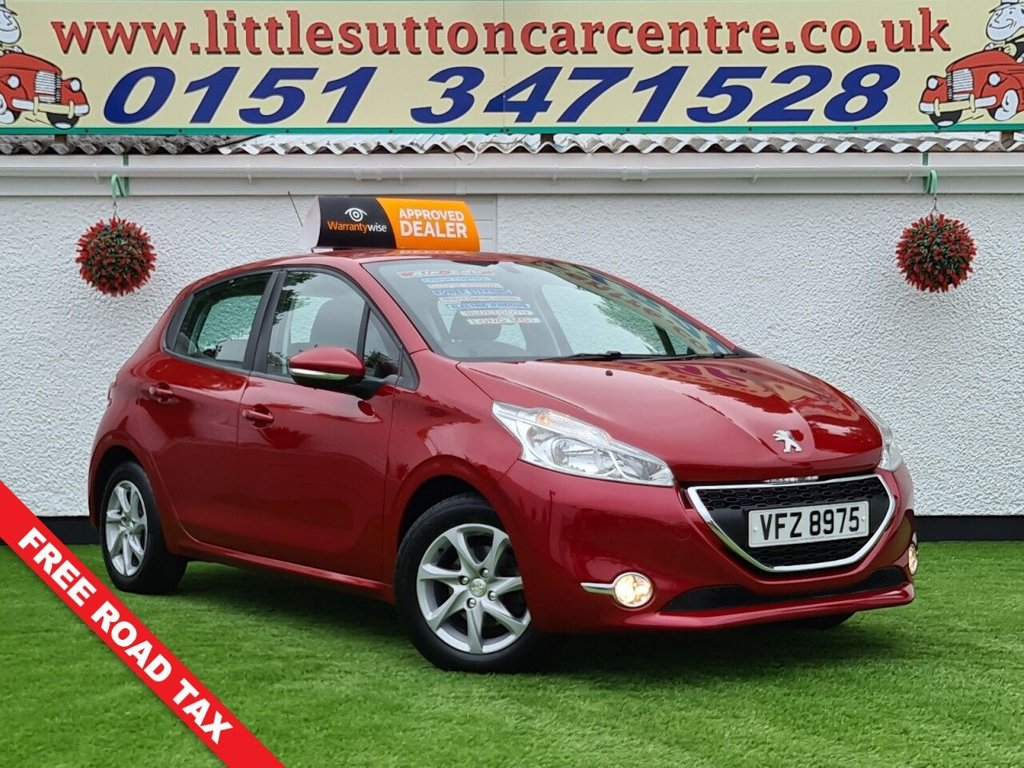 USED 2015 PEUGEOT 208 1.4 HDI ACTIVE 5d 68 BHP