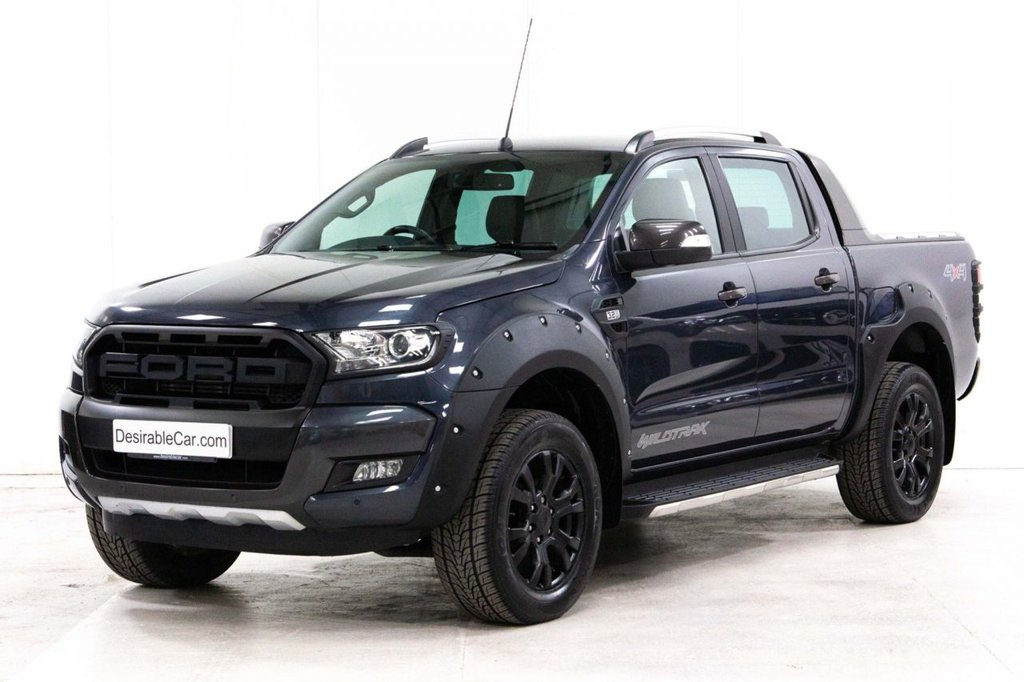 USED 2018 18 FORD RANGER 3.2 TDCi Wildtrak Double Cab Pickup 4WD (s/s) 4dr PLUS VAT*WIDE ARCH*F150 GRILLE