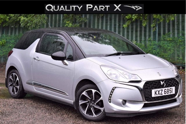 USED 2017 DS DS 3 1.6 BlueHDi Elegance (s/s) 3dr