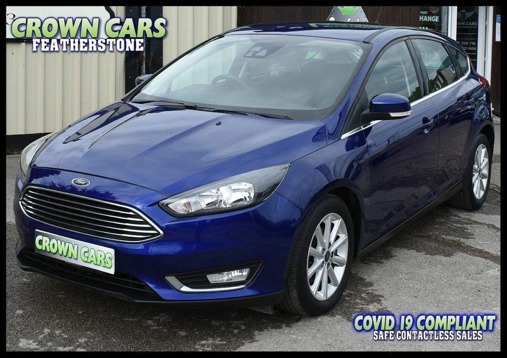USED 2016 16 FORD FOCUS 1.5 TDCi Titanium (s/s) 5dr LOVED AND CHERISHED FROM NEW