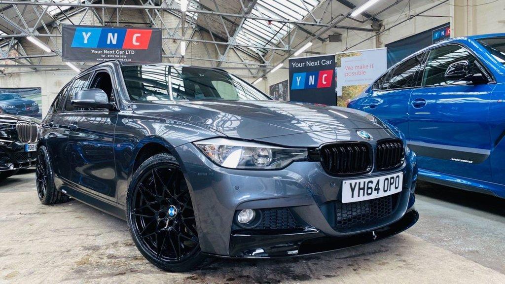 USED 2014 64 BMW 3 SERIES 3.0 330d BluePerformance M Sport Touring Sport Auto xDrive (s/s) 5dr PERFORMANCEKIT+XDRIVE+19S