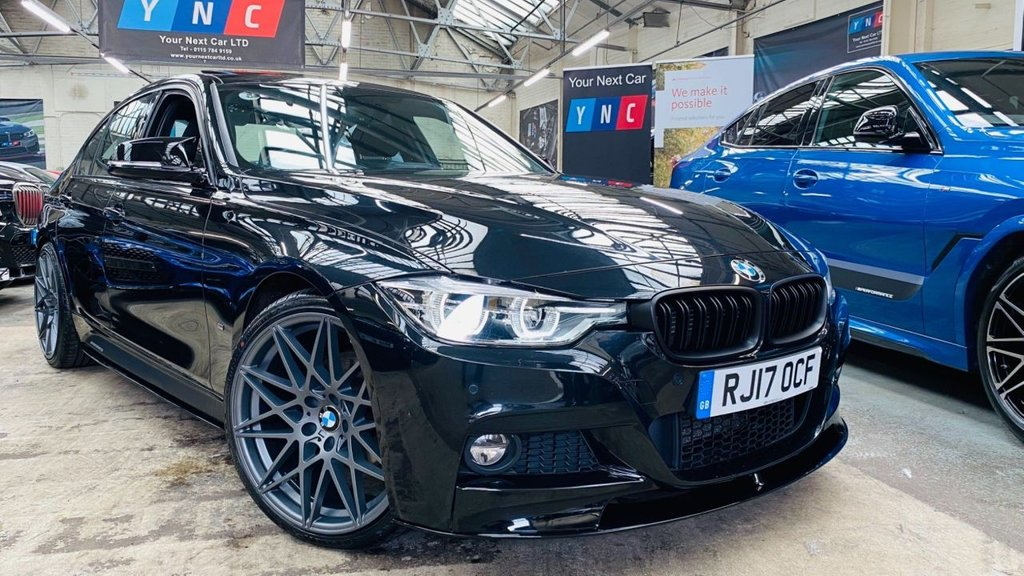 USED 2017 17 BMW 3 SERIES 2.0 330e 7.6kWh M Sport Auto (s/s) 4dr PERFORMANCEKIT+SROOF+20S