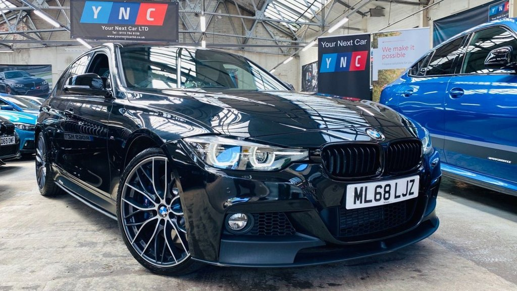 USED 2018 68 BMW 3 SERIES 3.0 335d M Sport Shadow Edition Auto xDrive (s/s) 4dr MPERFORMANCE+SHADOWED+20S