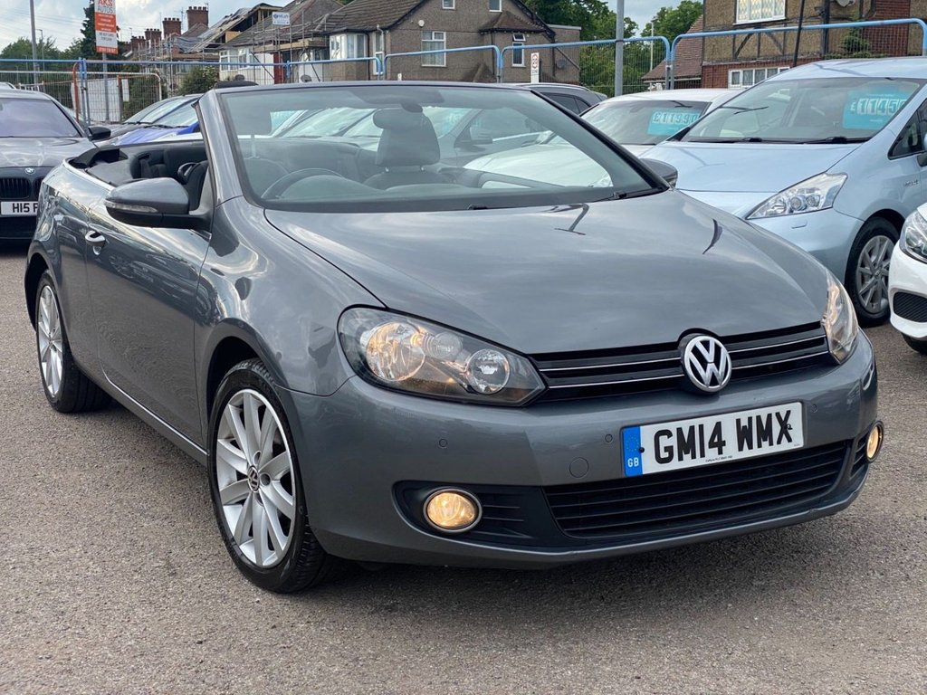 USED 2014 14 VOLKSWAGEN GOLF 1.4 TSI S Cabriolet 2dr SENSORS FRONT AND BACK | ECO