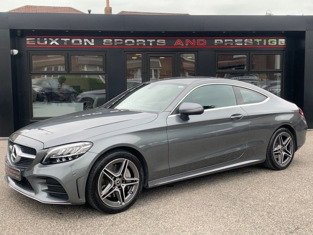 USED 2019 69 MERCEDES-BENZ C-CLASS 2.0 C300 AMG Line G-Tronic+ (s/s) 2dr Stunning Example!