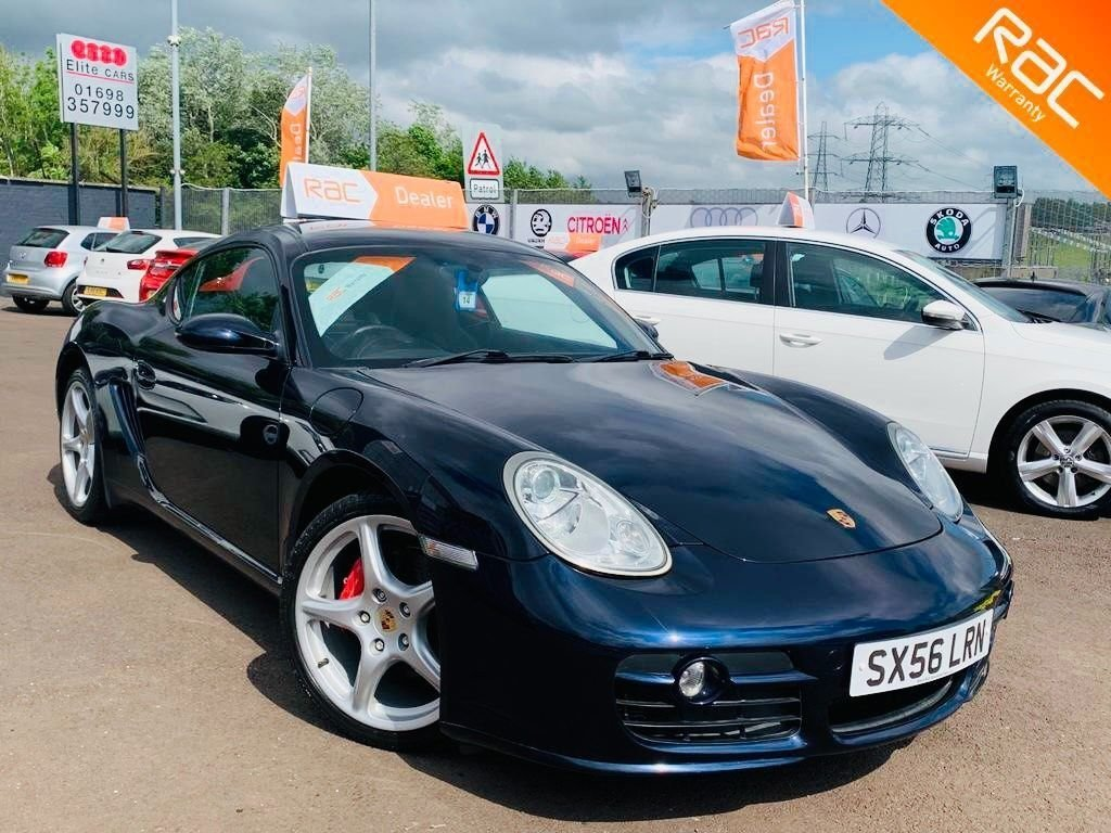 USED 2006 56 PORSCHE CAYMAN 3.4 987 S Tiptronic S 2dr 12 months Nationwide warranty