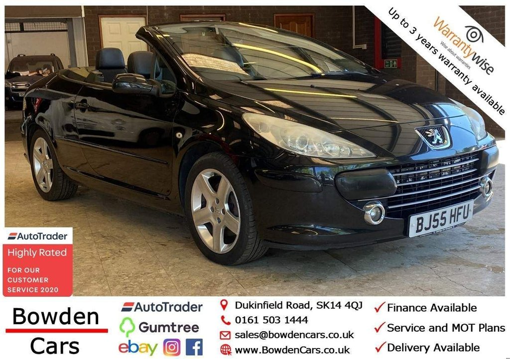 USED 2005 55 PEUGEOT 307 2.0 HDi SE 2dr **FREE NATIONWIDE DELIVERY**