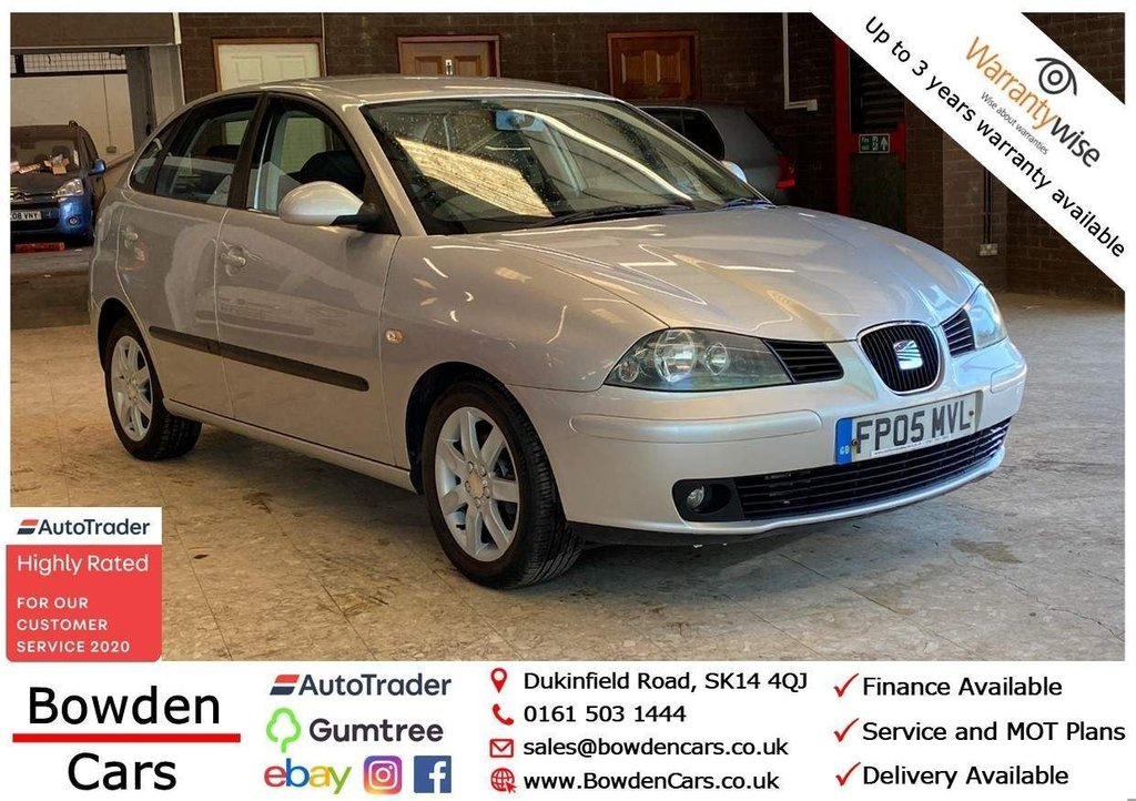 USED 2005 05 SEAT IBIZA 1.4 16v Sport 5dr **FREE NATIONWIDE DELIVERY**