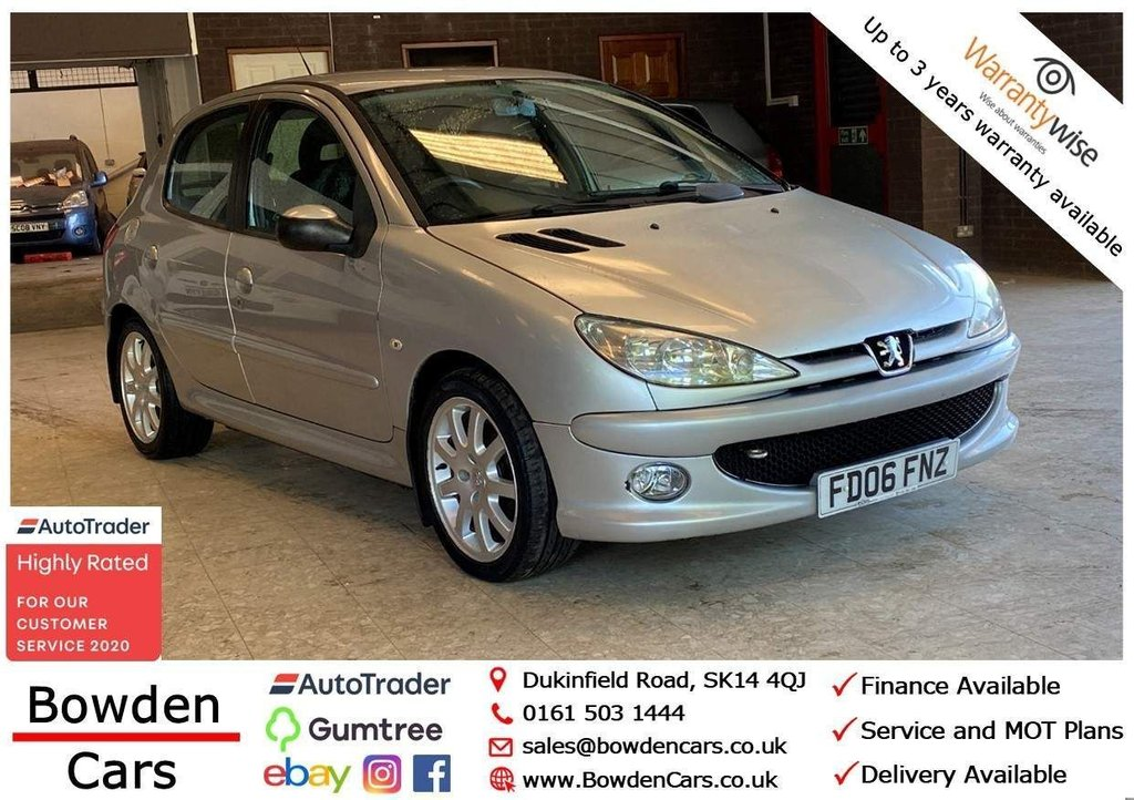 USED 2006 06 PEUGEOT 206 1.4 HDi Verve 5dr **FREE NATIONWIDE DELIVERY**