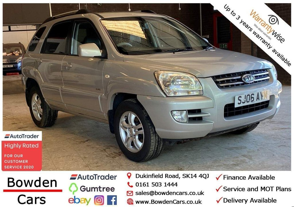 USED 2006 06 KIA SPORTAGE 2.0 CRDi VGT XS 5dr **FREE NATIONWIDE DELIVERY**