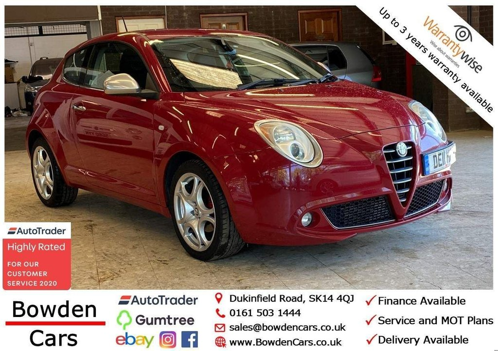 USED 2011 11 ALFA ROMEO MITO 1.4 TB MultiAir Veloce 3dr **FREE NATIONWIDE DELIVERY**