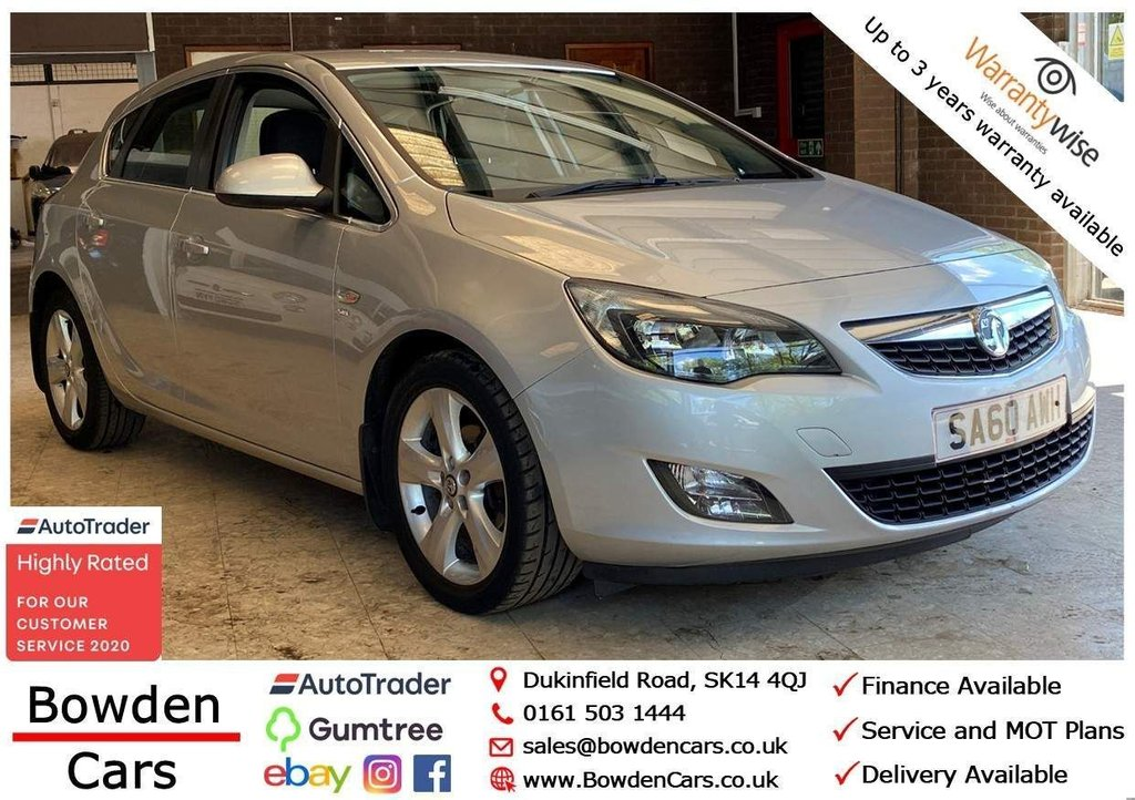 USED 2010 60 VAUXHALL ASTRA 1.6 16v SRi 5dr **FREE NATIONWIDE DELIVERY**