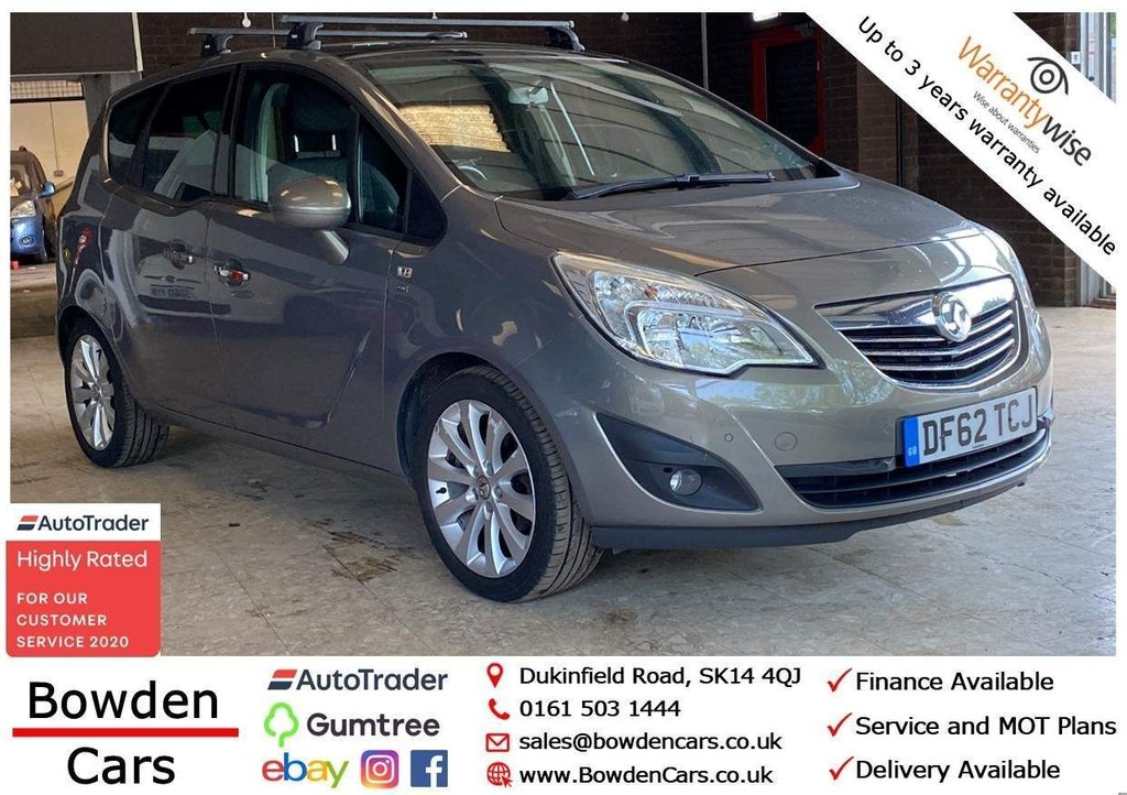 USED 2013 62 VAUXHALL MERIVA 1.4 i 16v SE 5dr (a/c) **FREE NATIONWIDE DELIVERY**