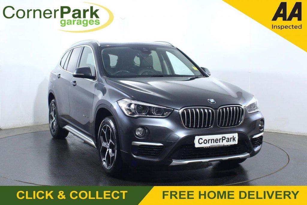 USED 2018 18 BMW X1 2.0 SDRIVE18D XLINE 5d 148 BHP