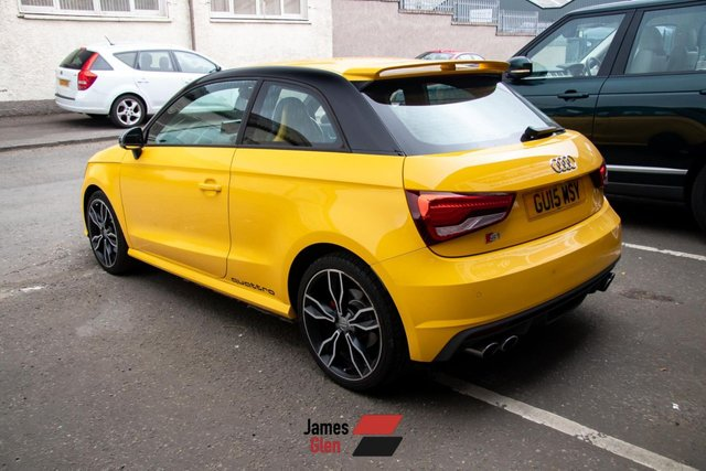 USED 2015 15 AUDI A1 2.0 S1 QUATTRO 3d 228 BHP Three Owners | Three Services