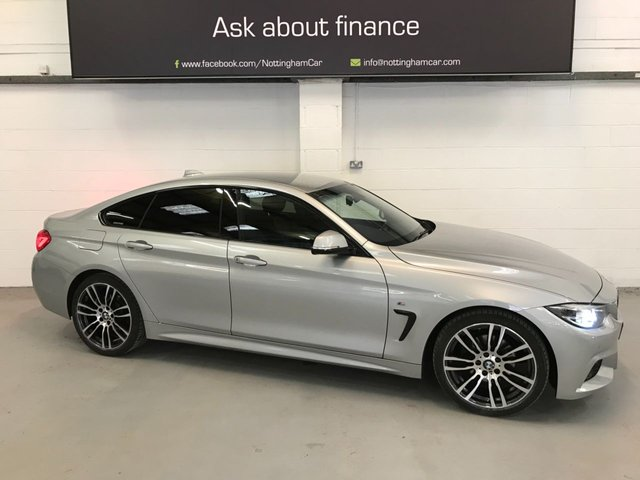 USED 2018 18 BMW 4 SERIES 2.0 420D M SPORT GRAN COUPE 4d 188 BHP