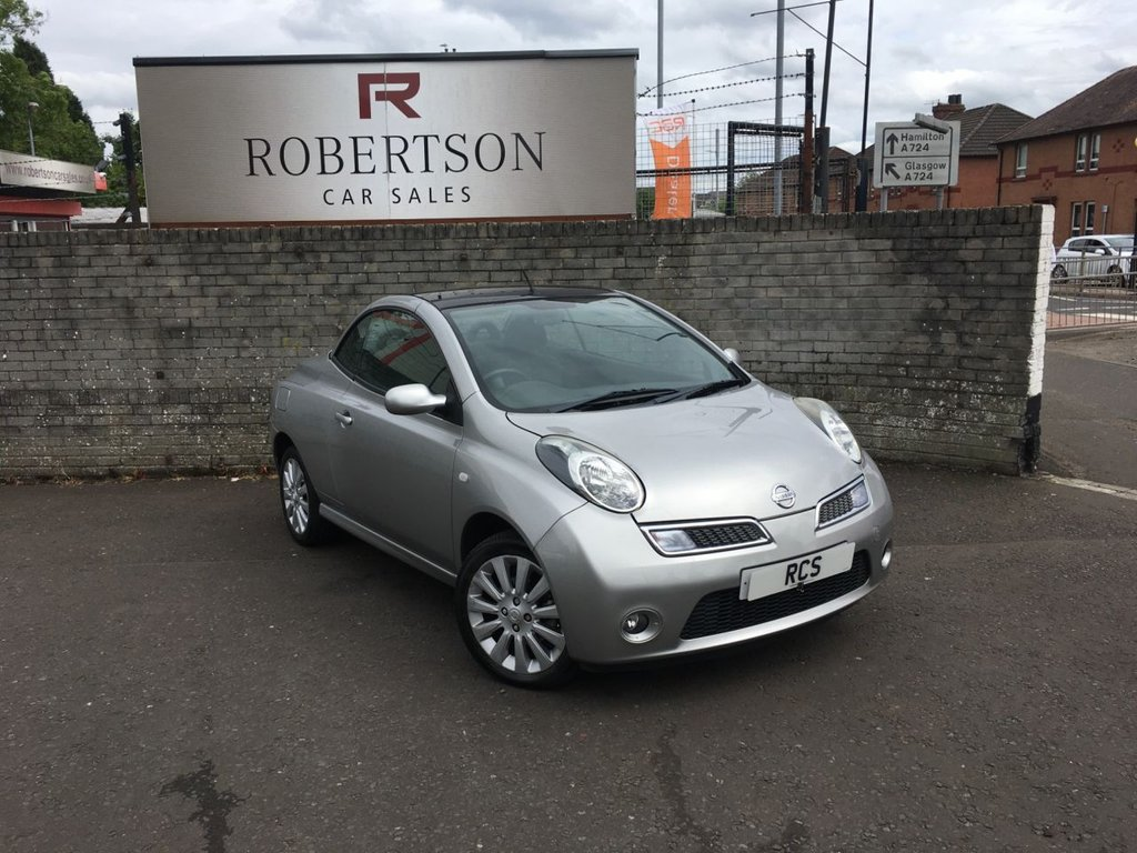 USED 2009 09 NISSAN MICRA 1.6 ACENTA C+C 2dr PERFECT FOR THIS TIME OF YEAR