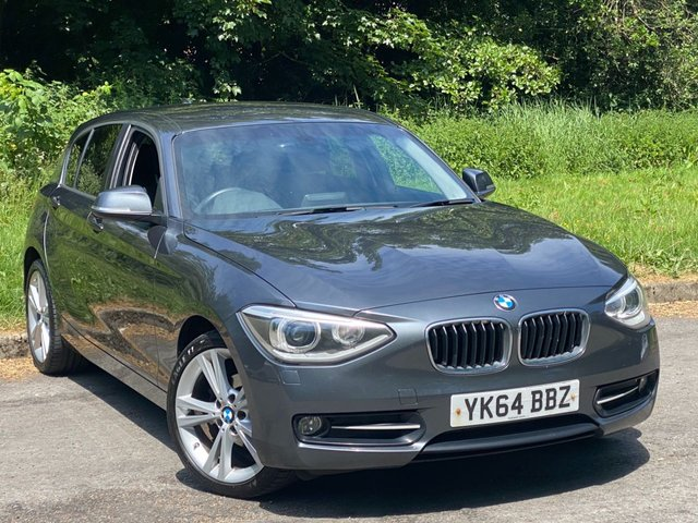 USED 2014 64 BMW 1 SERIES 2.0 116D SPORT 5d 114 BHP SATELLITE NAVIGATION, BLUETOOTH CONNECTION