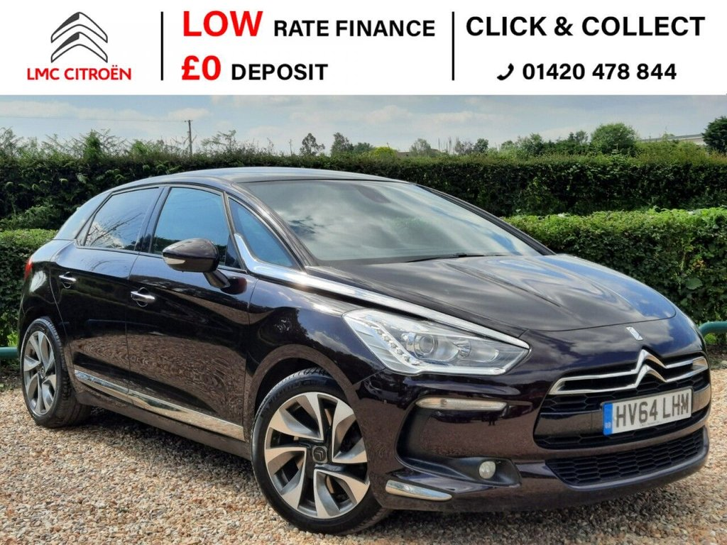 USED 2014 64 CITROEN DS5 2.0 HDI DSTYLE 5d 161 BHP ***GREAT SPEC + LOW MILEAGE***