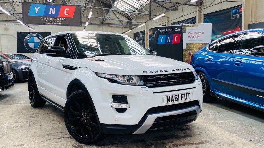 USED 2011 61 LAND ROVER RANGE ROVER EVOQUE 2.2 SD4 Dynamic AWD 5dr REVERSECAM+4WD+HTDWHEEL